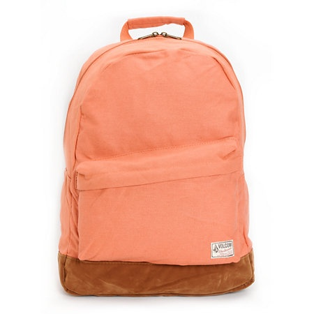 Volcom Supply And Demand Orange Backpack
