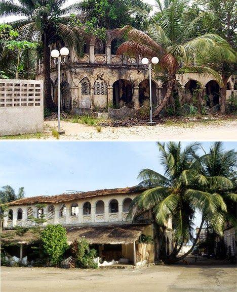 Grand-Bassam, pueblo fantasma de Costa de Marfil.