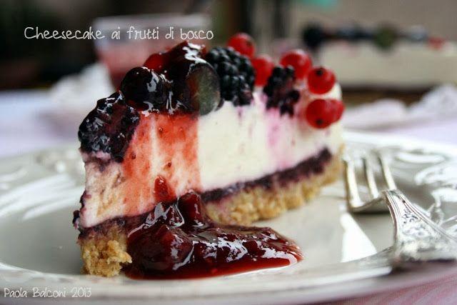 La cucina piccoLINA: Cheesecake ai frutti di bosco