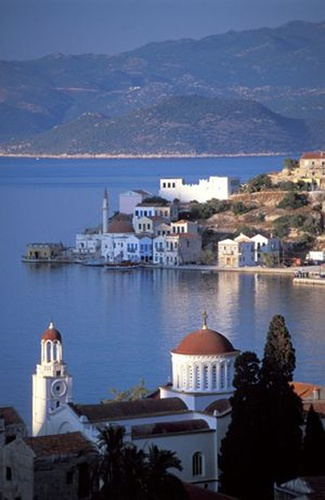 The view from Kastelorizo is magnificent at dawn.......................