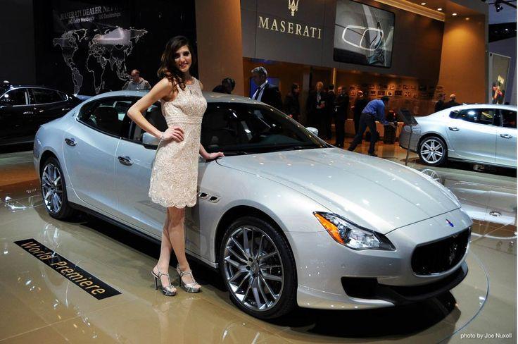 2016 maserati quattroporte concept  autoshow models