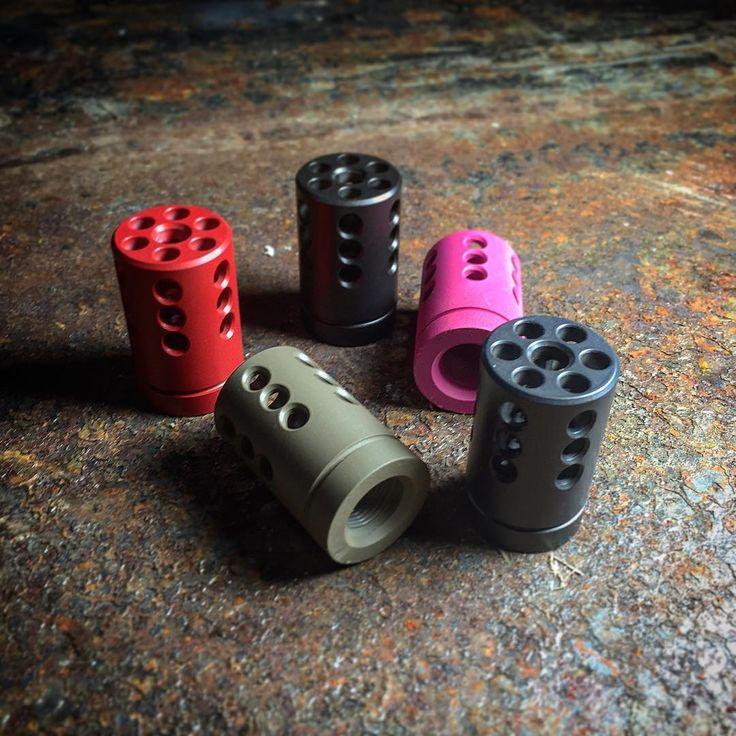 Comp it! Tac-Hammer Ruger 10/22 compensators. -www.adaptivetactical.com-#adaptivetactical #pewpew #pewpewpew #pewpewlife #rimfire #ruger #ruger1022 #gunporn #guns #plinking #cerakote #gunsdaily #gunspictures