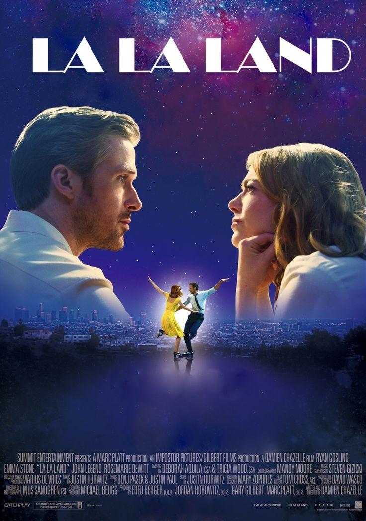 "La La Land 2016 Musical Movie Emma Stone Ryan Gosling Poster, La La Land Print, Emma Stone Poster, Movie Art, Size 13x20"" 24x36"" 32x48"" #6 by Shoposef on Etsy"