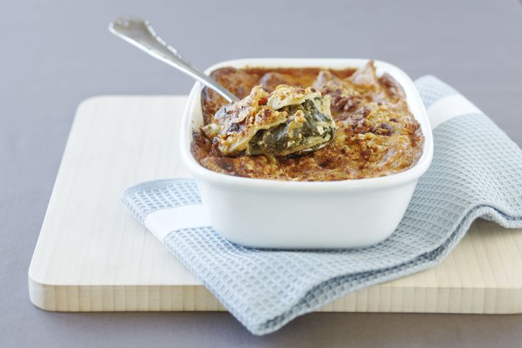 Hearty Spinach Lasagne!