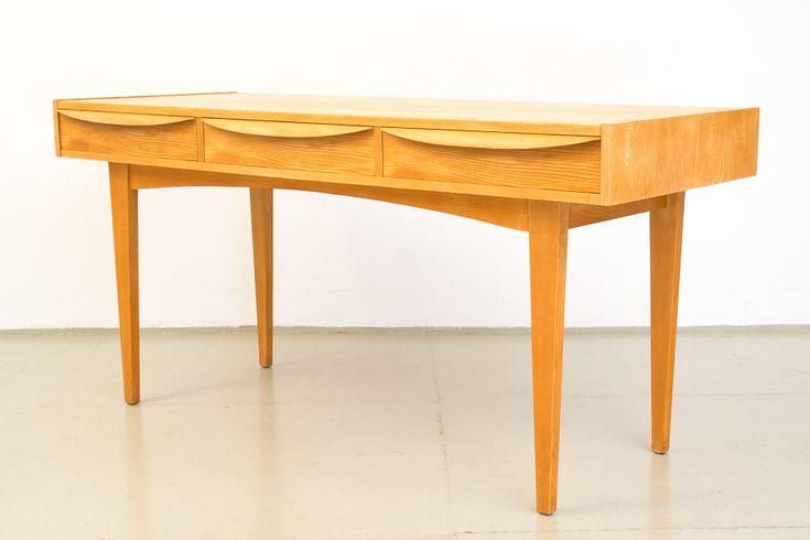 50er-Jahre-Franz-Ehrlich-Hellerau-Schreibtisch