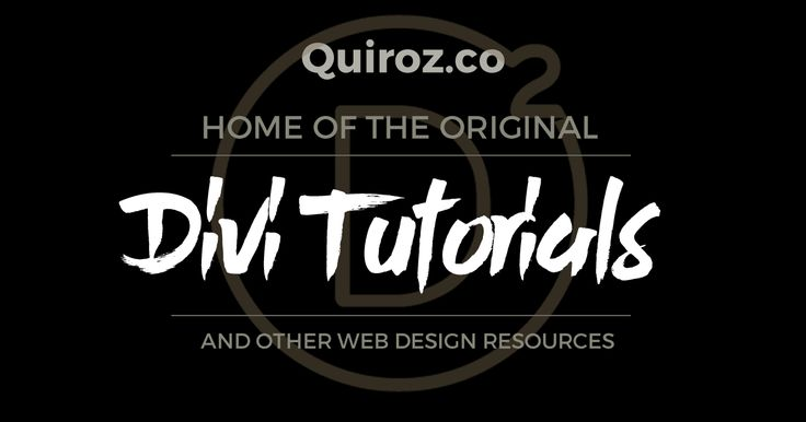The ultimate library of Divi Tips, Tricks & Tutorials for the Web Designer, CSS Enthusiast, Hobbyist and the Digital Entrepreneur in all of us. Brought to you by Geno Quiroz of MontereyPremier.com.
