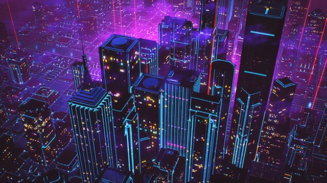 80s Style Retrowave Animation Florian Renner