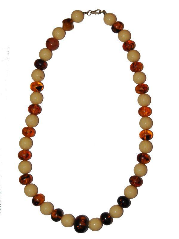 Collana pietre colorate bigiotteria