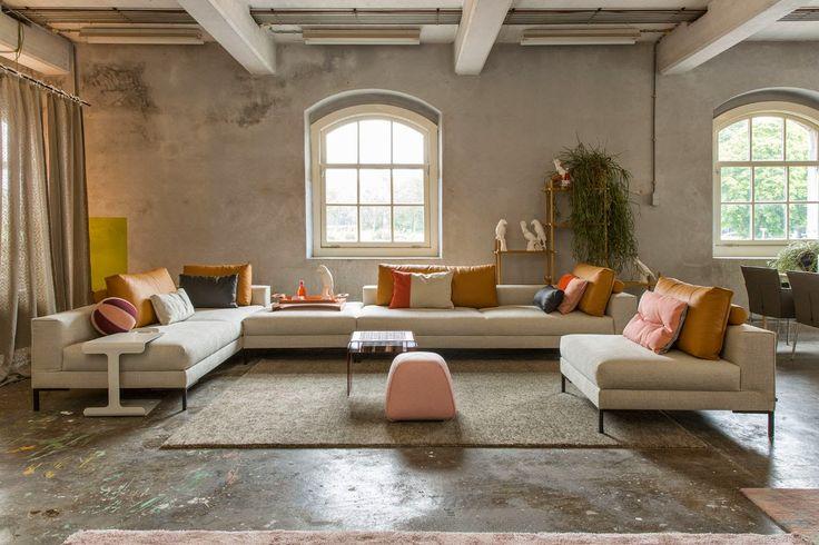 17 beste afbeeldingen over design banken op pinterest ontwerp interieur en hooi - Lounge design grijs ...