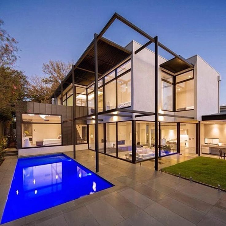 Contemporary Style Home Designed By Domoney Architecture Location:  #Hawthorn, A Suburb Of #