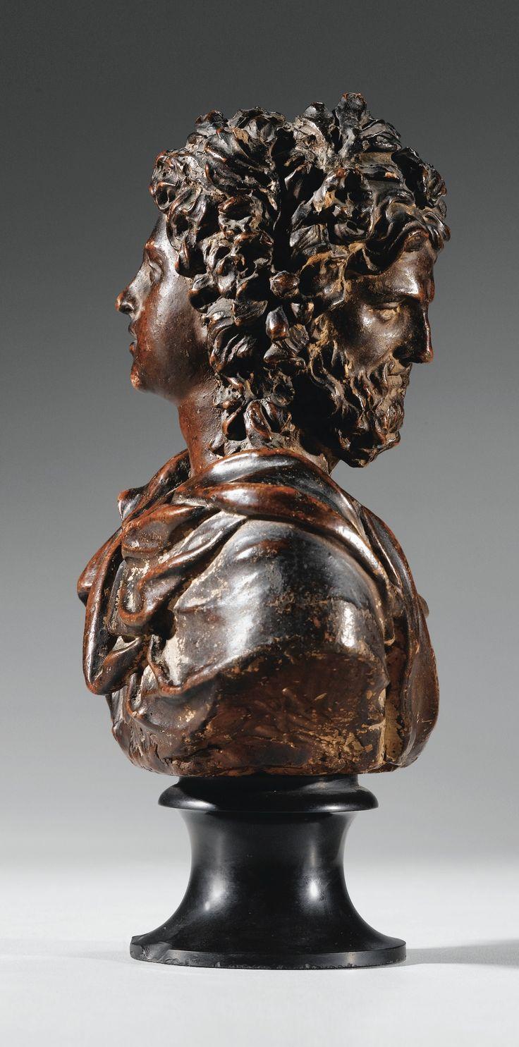 Exceptionnel double portrait de Janus, France, fin XVIIe / début XVIIIe siècle | Lot | Sotheby's