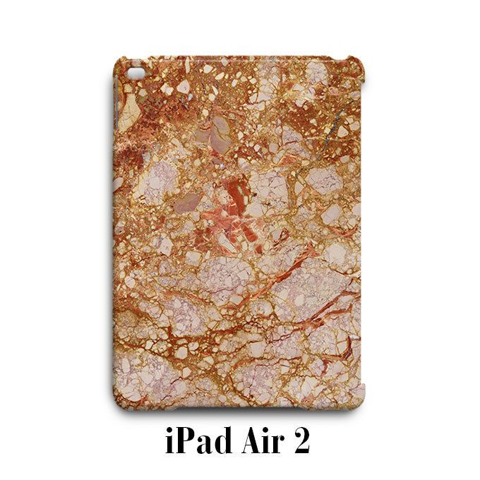 Brown Marble Texture iPad Air 2 Case Cover