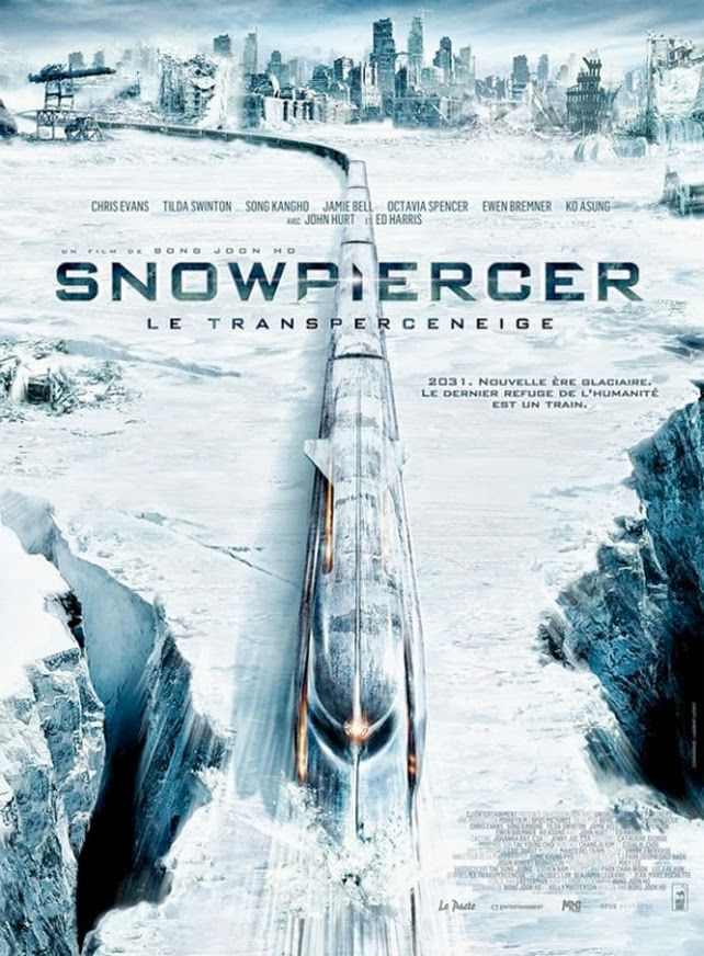 末世列車 Snowpiercer 2013. This movie managed to be weird and terrifying at the same time.