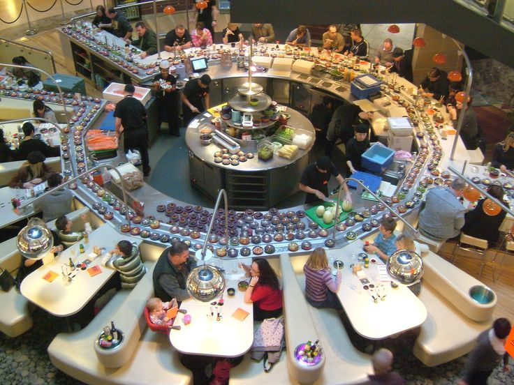 Bluewater3753 - Conveyor belt sushi - Wikipedia, the free encyclopedia