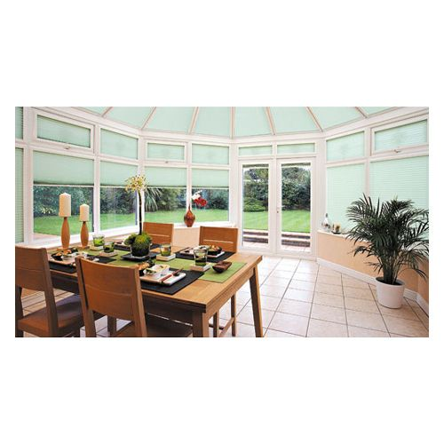 www.conservatoryblinds4less.co.uk You can now have fantastic looking blinds to complement your beautiful conservatory that also help to cut energy bills! That's right - traditional venetian blinds, pleated blinds and roller blinds in a great array of fabrics. Conservatory Blinds 4 Less Unit 9, Derwent Business Park Hawkins Lane Burton-Upon-Trent DE14 1QA Tel: 0800 587 9906