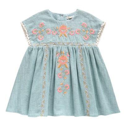 Louise Misha Oleste Embroidered Dress-listing