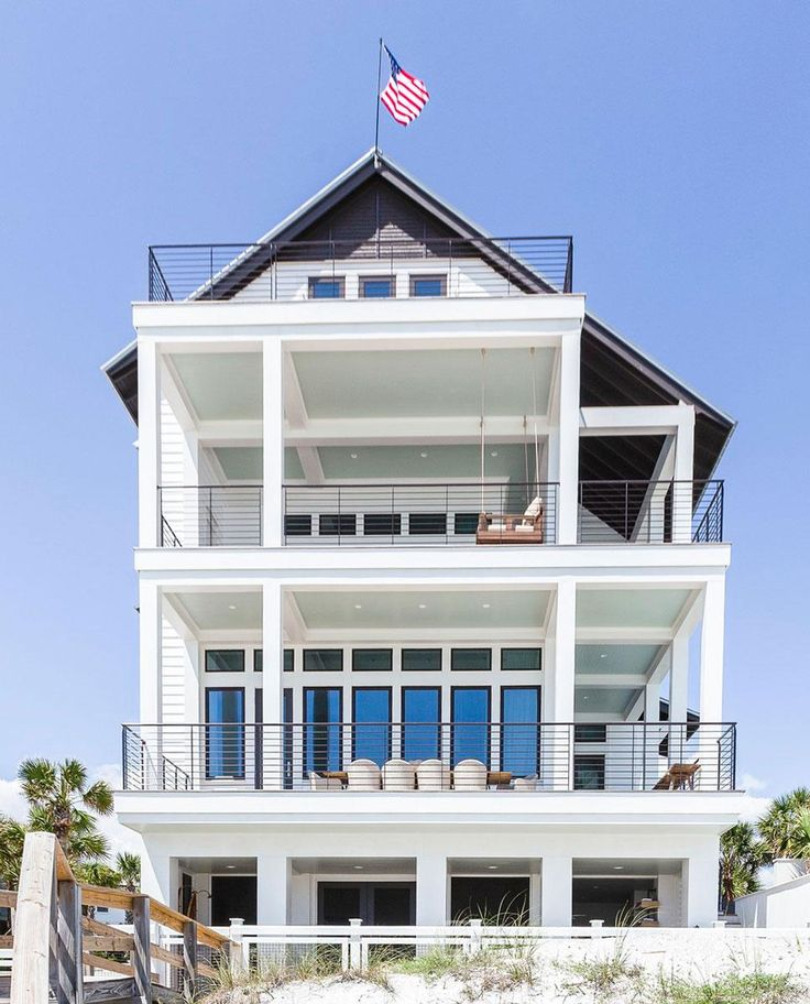 """Country music star Luke Bryan and his family build a four-story Florida beach house lovingly dubbed """"snowman"""""""