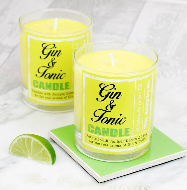 Are you interested in our Gin and Tonic Gift? With our Scented Candle you need look no further.
