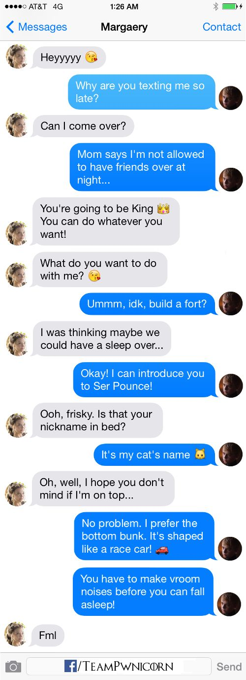 Tommen and Margaery Texts From Westeros