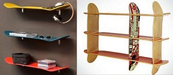 les 25 meilleures id es concernant tag res de planche roulettes sur pinterest salle pour. Black Bedroom Furniture Sets. Home Design Ideas