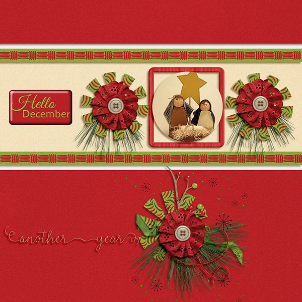 Hello December by Dandelion Dust Designs      http://store.gingerscraps.net/Hello-December-by-Dandelion-Dust-Designs.html      Template by Amber Morrison