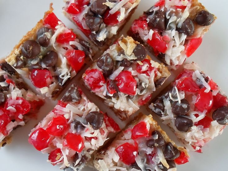 Happier Than A Pig In Mud: Cherry Magic Cookie Bars