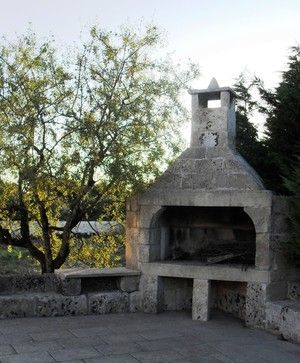 Pizza Ovens & BBQs out of Stone for Outdoor Cooking - mediterranean - Outdoor Pizza Ovens - New York - Ancient Surfaces