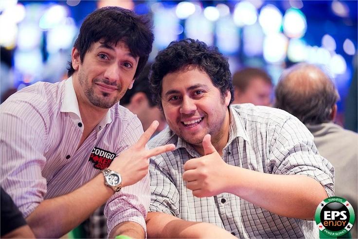 Ganamos...perdimos pero igual nos divertimos.   El Poker se vive en Enjoy.