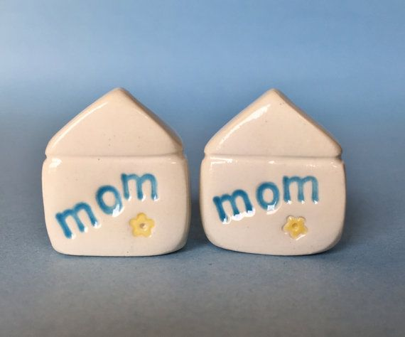 MOM Mothers Day Gift Little Clay House by thelittlereddoor on Etsy