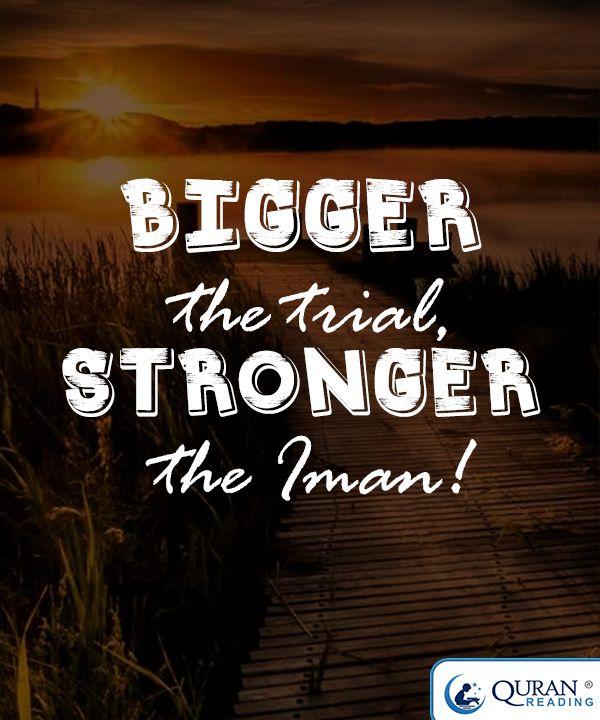 Stronger the Iman