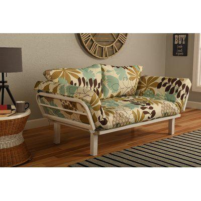 Everett Convertible Lounger Garden Futon and Mattress - http://delanico.com/futons/everett-convertible-lounger-garden-futon-and-mattress-705841653/