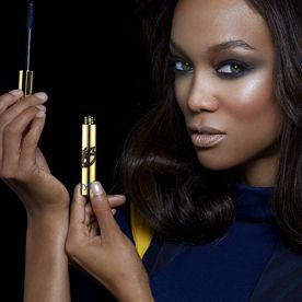 Your Tyra-approved makeover is THAT much more attainable: Tyra Banks is launching her own makeup line!  #InStyle