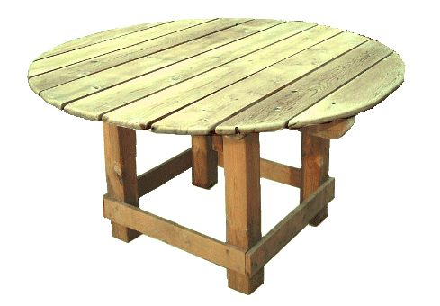 How To Build Round Wooden Picnic Table Plans Pdf