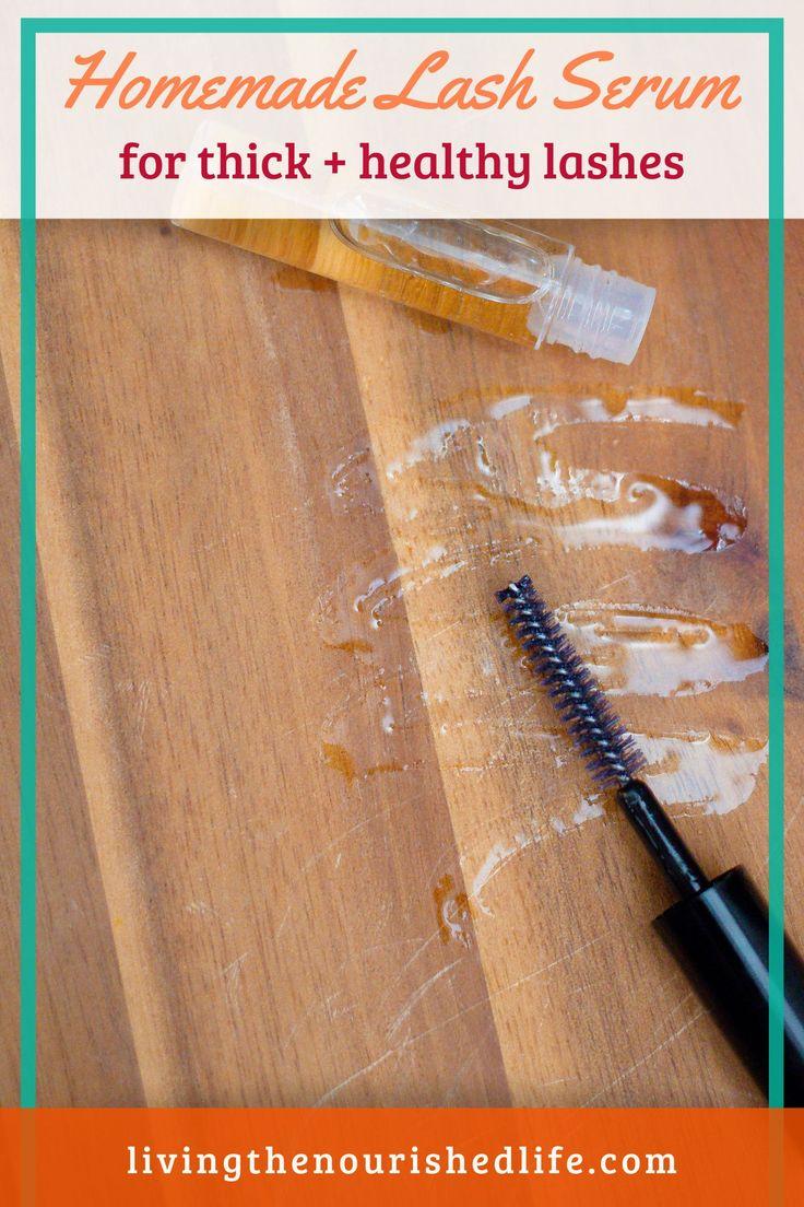 Diy eyelash growth serum recipe the nourished life in