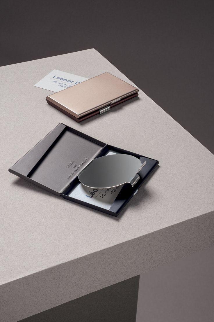 Lexon - FINE CARD BOX, design Pauline Deltour