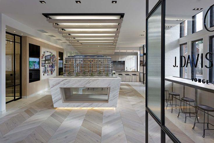J. Davis House Sales Office - Interior Design: GCB Interior Architecture
