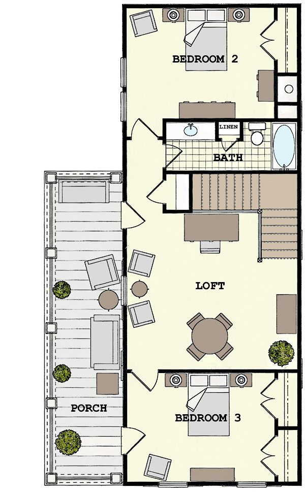 Side yard house google search side house pinterest for Charleston side house plans