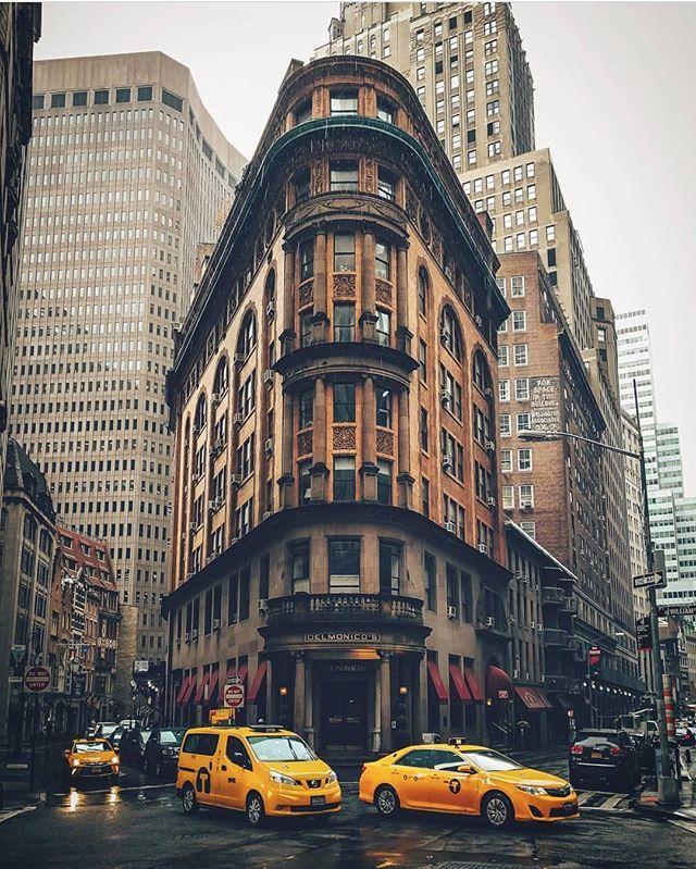 Delmonico Restaurant, New York City   Photography by @jayeffex #WeLiveToExplore