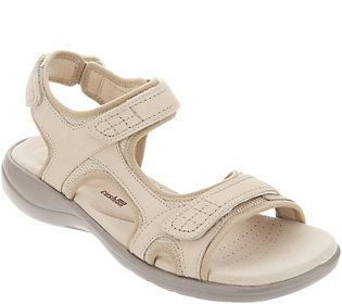 3f0f4782ec08 Clarks Leather Adjustable Comfort Sandals -Saylie Jade in 2018 ...