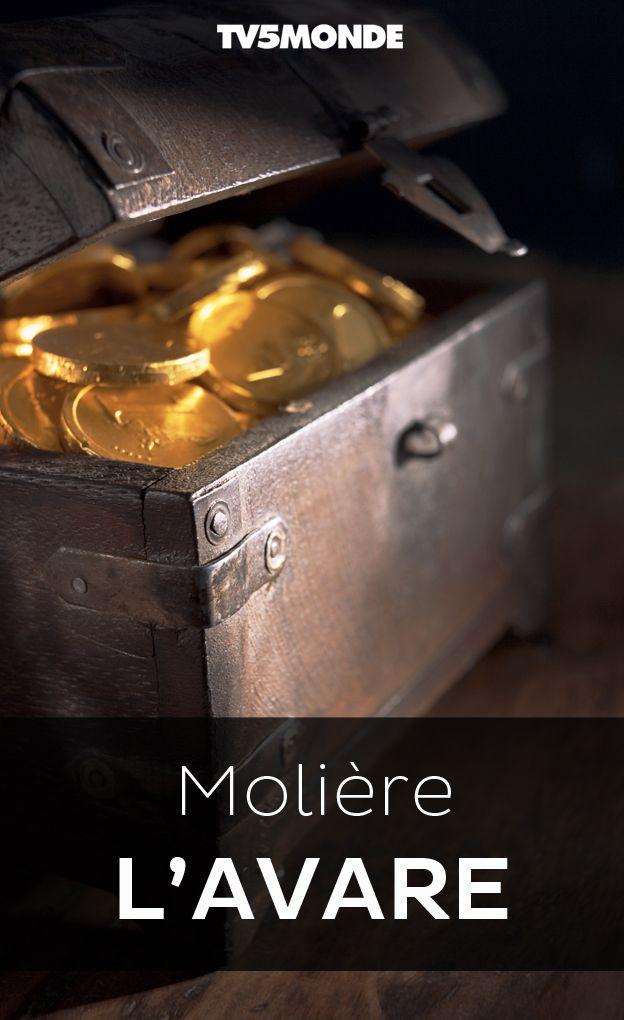 """Bibliothèque Numérique #TV5MONDE - Molière, """"L'Avare"""""""