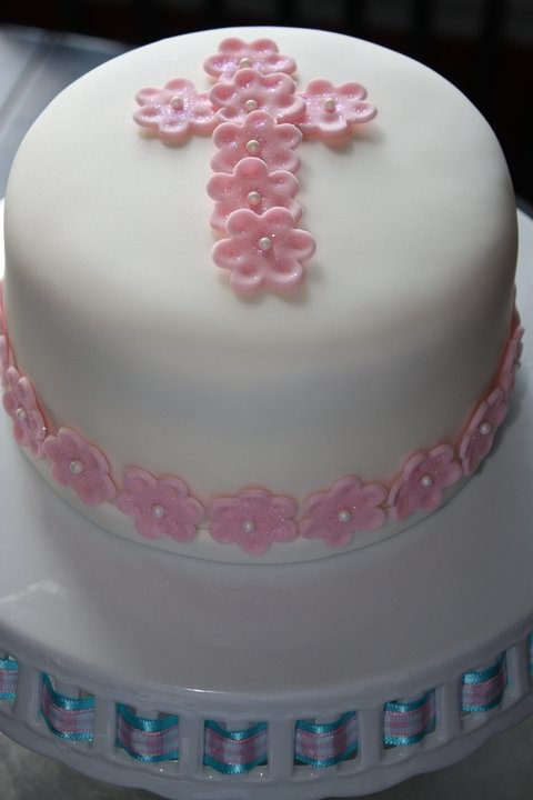 Little Girl Christening Cake
