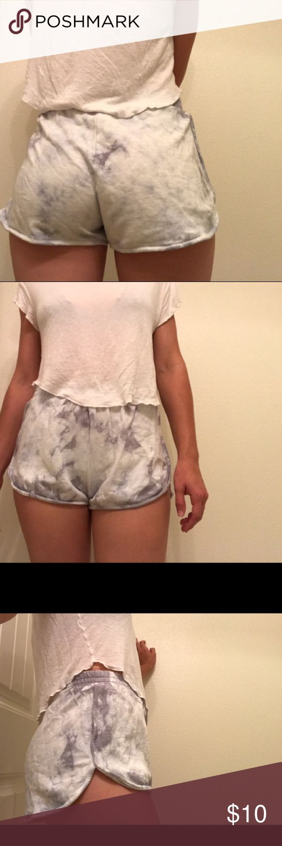 Never Worn Tie Dyed Lounge Shorts Super comfy lounge shorts! Forever 21 Shorts