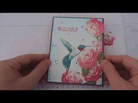 Two Step Stamping with the Brand New Picture Perfect Stamp Set from Stampin' Up! - YouTube