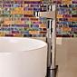 Moderno singola maniglia cromata finitura Pull Out lavandino rubinetto del bagno