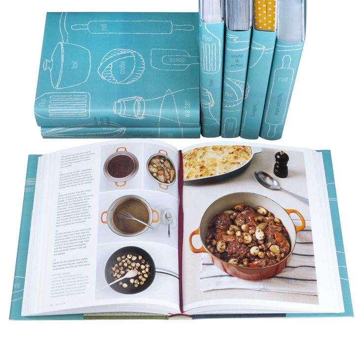 Contemporary Cookbook Set