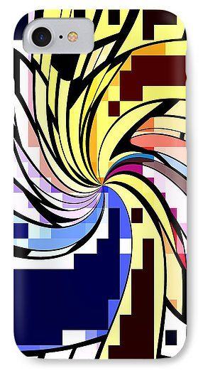 Whirl 1 IPhone 7 Case for Sale by Chris Butler.  #iphonecase #galaxycase #iphonecases #galaxycases #cool #awesome #abstract #colorful
