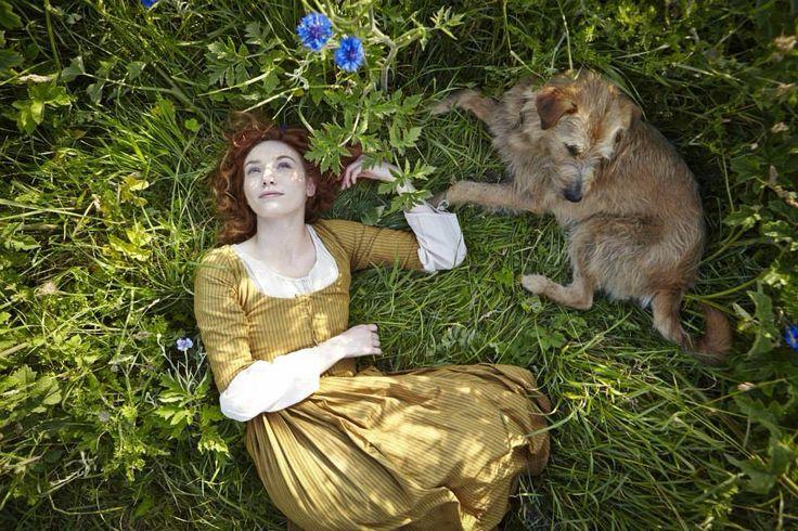 Eleanor Tomlinson as Demelza Carne in Poldark