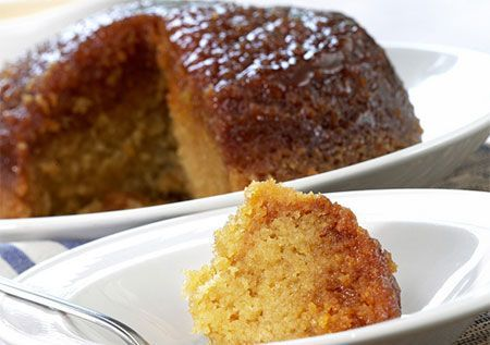 5-minute steamed pudding --- made in the microwave and tastes just like Malva pudding