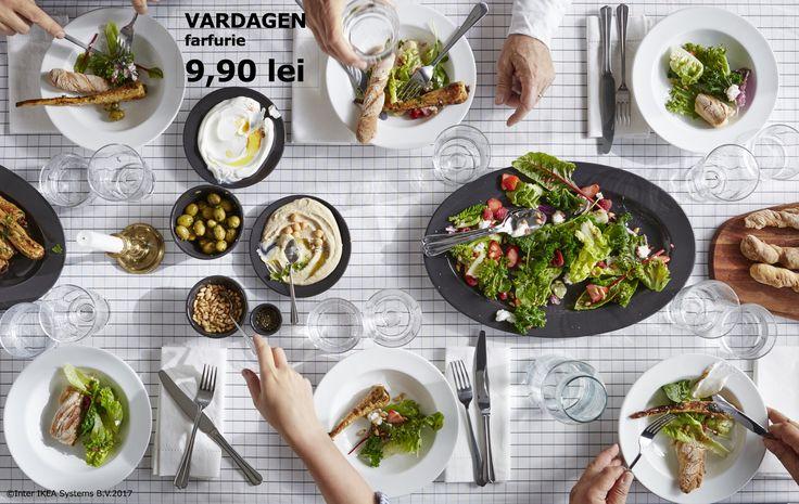 Acasă este locul unde stai la povești, sărbătorești, faci planuri și îi aduni pe toți cei dragi la masă. Până pe 21.05.2017, membrii IKEA FAMILY beneficiază de până la 25% reducere la toată gama de farfurii.   Inspirație pentru zilele de vară: www.IKEA.ro/Vara_in_aer_liber Oferta este valabilă în perioada 01-21.05.2017, în limita stocului disponibil.