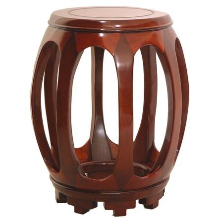 garden stool in wood...soo pretty